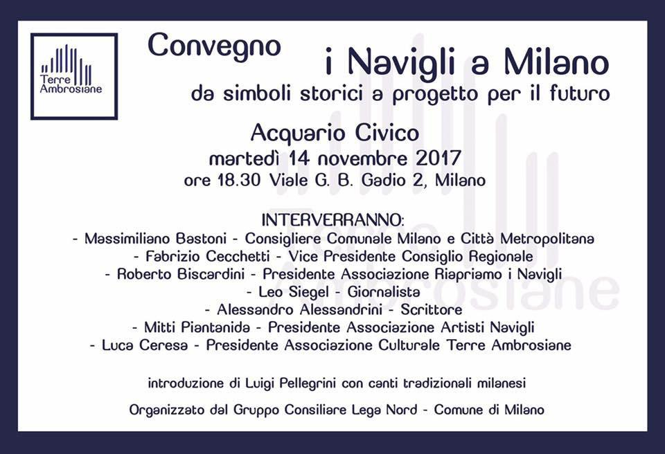 Eventi 2017 – I Navigli a Milano