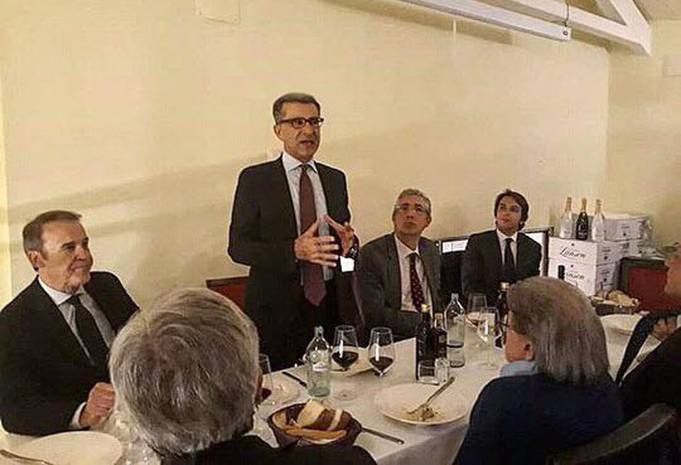 Cena e dibattito con Prof. Giuseppe