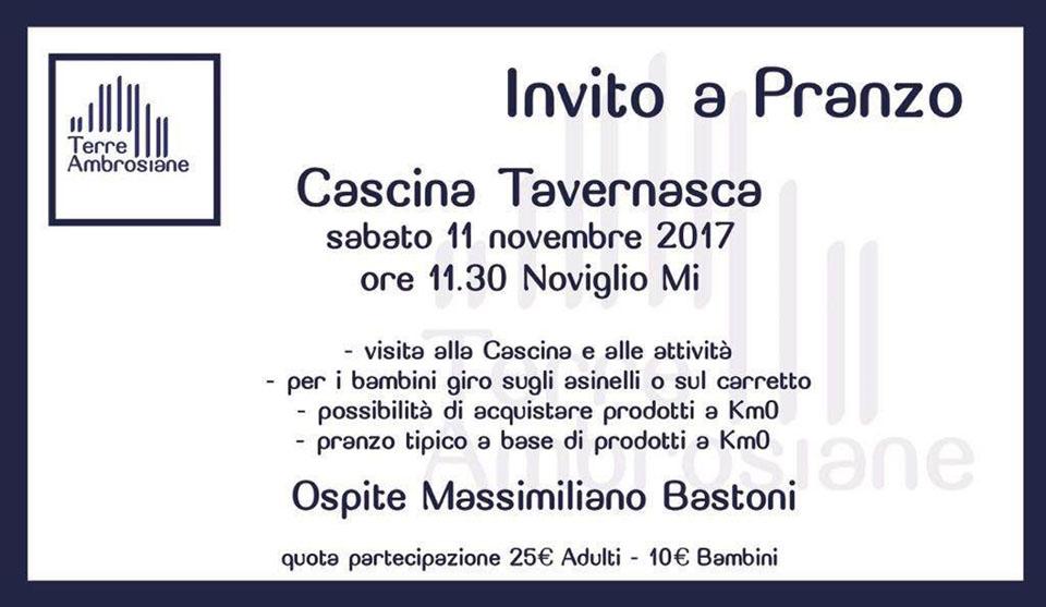 Eventi 2017 – Invito Cascina Tavernasca