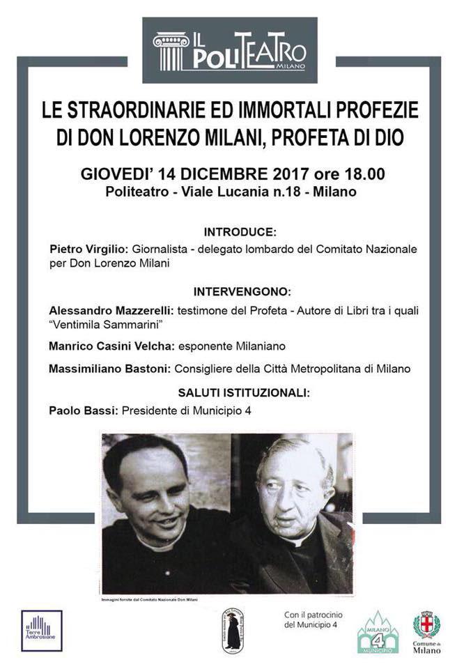 Eventi 2017 – Don Lorenzo Milani