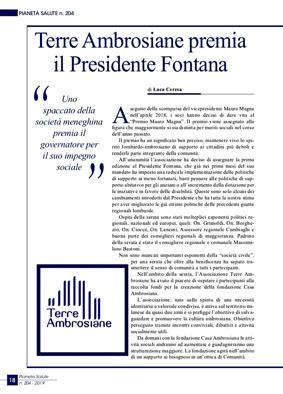 Presidente Fontana, Terre Ambrosiane per le tradizioni in Lombardia